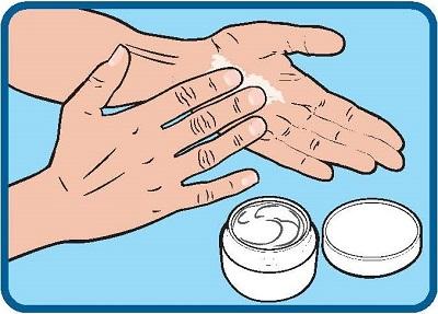 Moisturise Hands